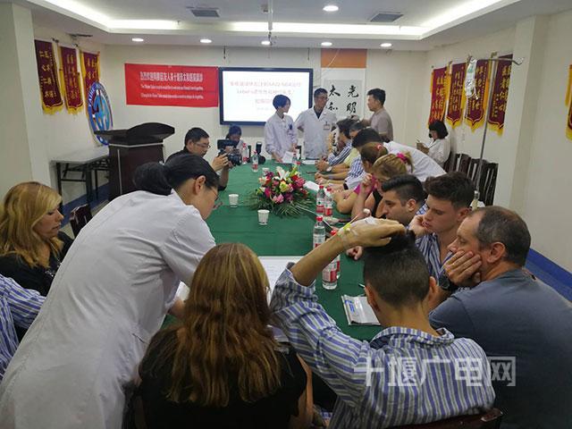七名阿根廷患者专门赴太和医院治疗眼部遗传疾病