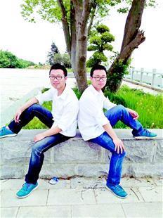 湖北双胞胎兄弟一起上华科