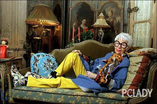 也想在七老八十的时候做个酷老太太