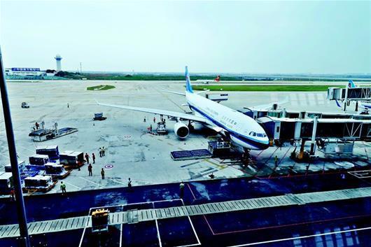 武汉直飞伦敦航班昨日开通 11.5小时抵达