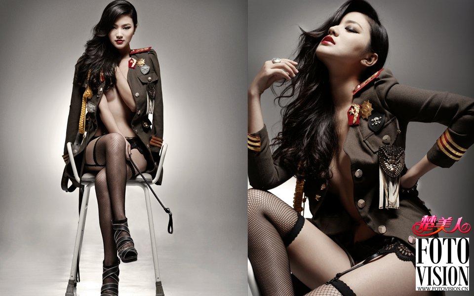 《楚美人》26期:柔软的刺猬女郎 冷艳中性感满溢