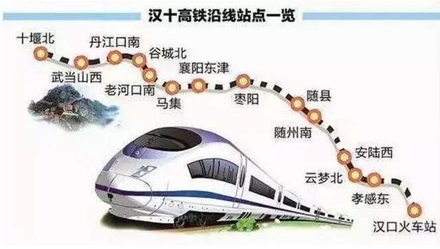 湖北铁路规划出炉 涉及十堰襄阳荆门宜昌等地