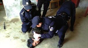 仙桃一患病男子病情发作 持水果刀刺伤其家人