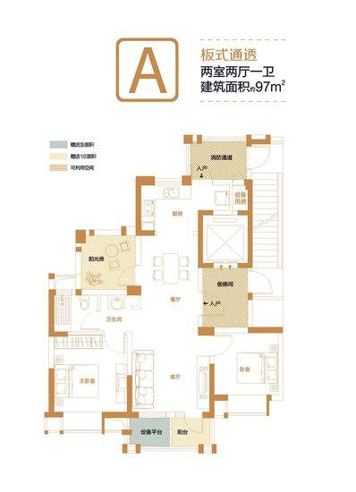 汉口城市广场户型解析 高清图片