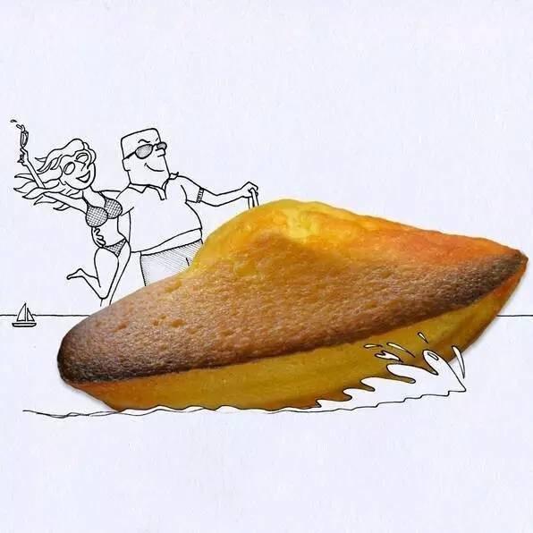 这样的插画家 绝对也是个吃货