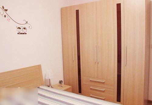 小清新90平两室两厅装修 高清图片