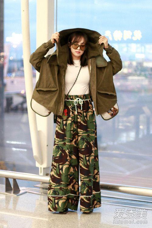 女星最新机场街拍 刘诗诗低调气质出众图片
