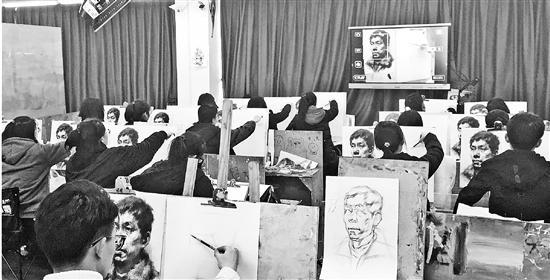 2019年艺考季大幕开启 美术高考竞争愈发激烈