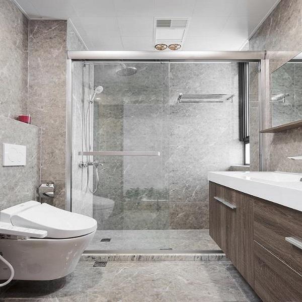 卫生间选这3种砖好看又耐脏,赶紧放弃黑白色吧!