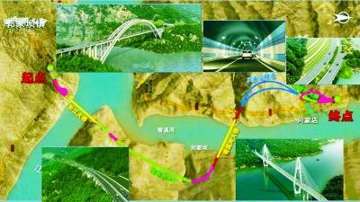 汉企建世界第二大跨径钢桁架拱桥 总投资21亿元