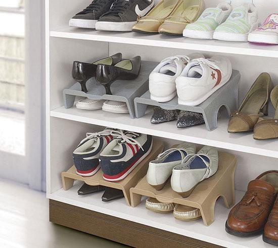 鞋子收纳一个头两个大?快进来get新招!