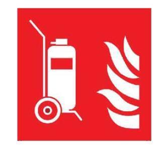 灭火器cad图标-常见的消防标志