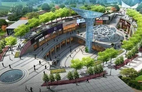 原标题:武汉地铁首建下沉式商业广场,公共绿地 商业空间复合开发图片