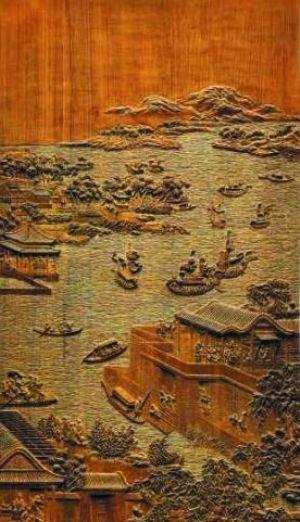 在她看来,广东是雕刻艺术的摇篮,留在宫廷中的明清艺术作品非常多