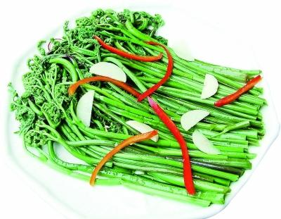 蕨菜致癌?专家:不是谣言 此类野菜尽可能少吃