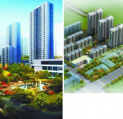 东方现代城平面图-开发区 主推 4 1 蓝色产业