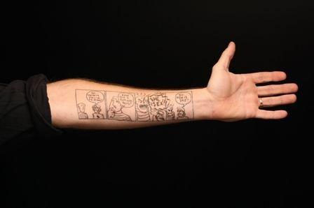 美国纹身手臂图案