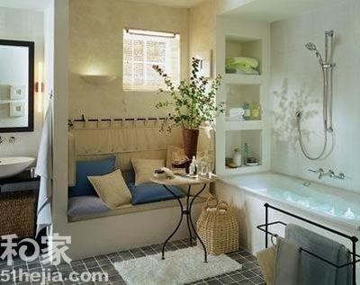 卫生间,但干湿分区一向是卫生间的首要问题.布制靠枕皮质沙高清图片