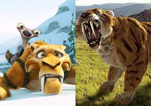 四角狗 布贴画-迪亚哥是《冰河世纪》中善战但同样心地善良的剑齿虎,他并不像的外
