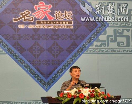 《首义大都督黎元洪》在汉首发 裴高才现场开讲