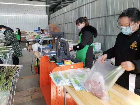 """潜江商务局:""""无接触购物""""保市民安全消费"""