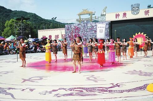 炎帝文化庙会精彩启幕 吸引周边1万余名群众观看