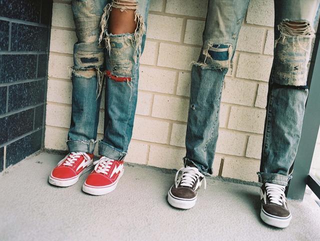 这双欧美潮款帆布鞋国内鲜为人知,但大幂幂对它是真爱