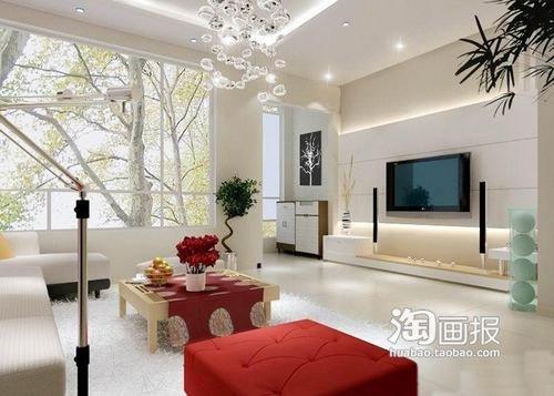客厅电视背景墙装修效果图大全1023图片>>>