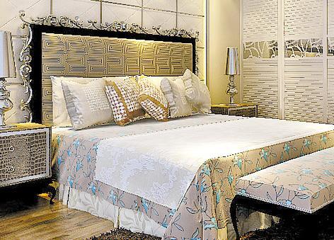 欧式床床头安装视频图