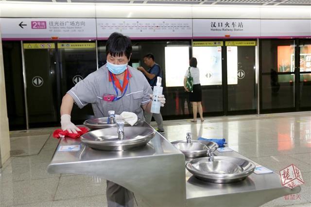 直饮水机卫生不佳?武汉地铁:将采取新举措