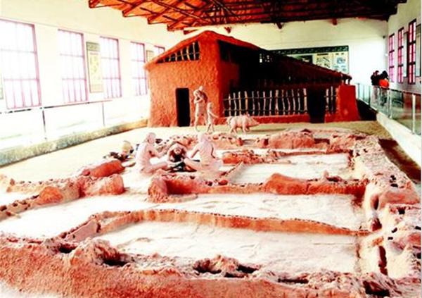枣阳雕龙碑遗址再现原始风貌 呈现建筑史起源