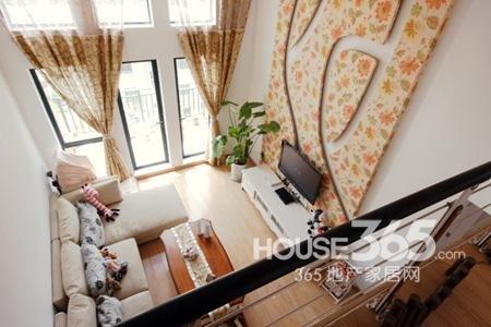 90平米韩式田园装修美图 江南style家居装修风高清图片