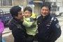 3岁男童独自出门找家人 民警救助熊孩子返家