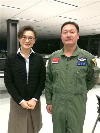 潜江骄子张叶接受央视节目专访 介绍中国航母