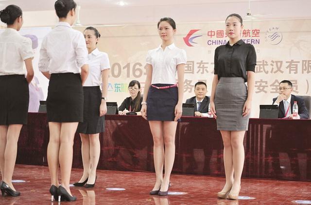 空乘年龄规范放宽 武汉辣妈成空姐招聘会常客