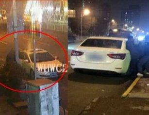 武汉街头突然传出救命声 男子被强塞车中带走