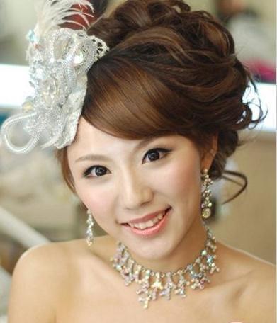 本期小编带来的日系甜美萌主题新娘造型,将甜美和萌发挥到极致的同时图片