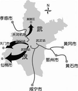 广州少儿手绘地图