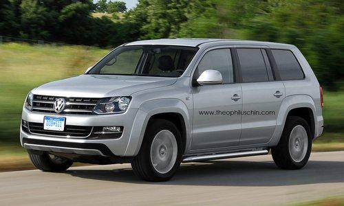 一汽大众新车规划一览 全新七座SUV主打高清图片