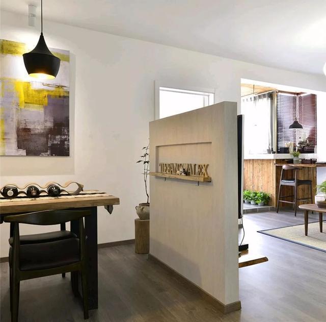 86㎡现代简约二房,小客厅多功能,还清新美观!