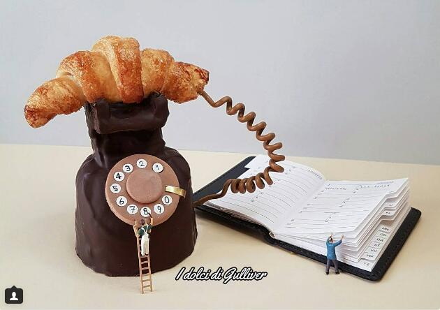 word天 用牛角面包打电话?吃货的世界你不懂!