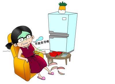 半个冰西瓜差点要命 专家:西瓜冷藏别超过两小时
