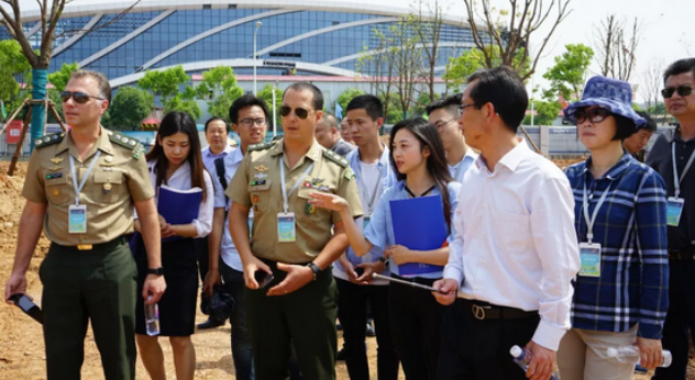 武商院与国际军体理事会签订项目备忘录 确定赛事竞赛标准