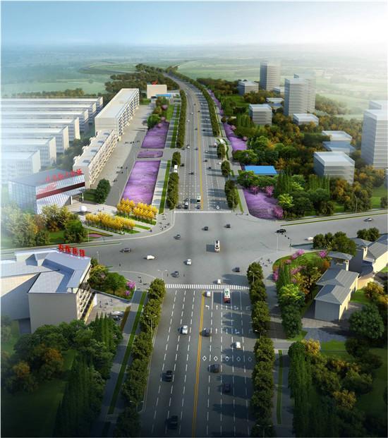"""荆门城区三个""""门户""""提档升级 将打造景观大道"""