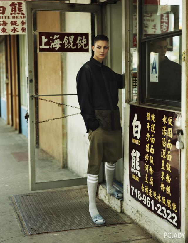 古老而神秘的唐人街,竟是时装精们的聚集地