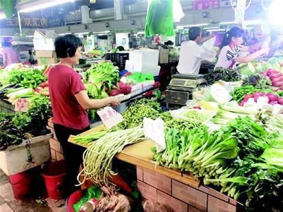 高温减产本地新菜断档 叶子菜价格上涨进5元区