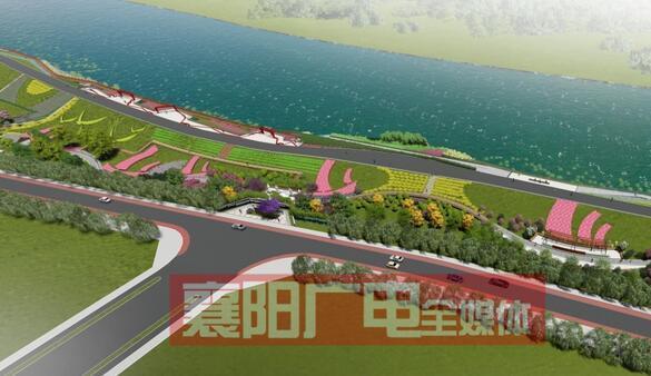 襄城老龙堤将修建长2500米绿色滨江景观长廊