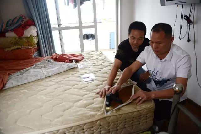 床垫睡了10年 掀开以后一窝窝螨虫把全家人惊呆了!