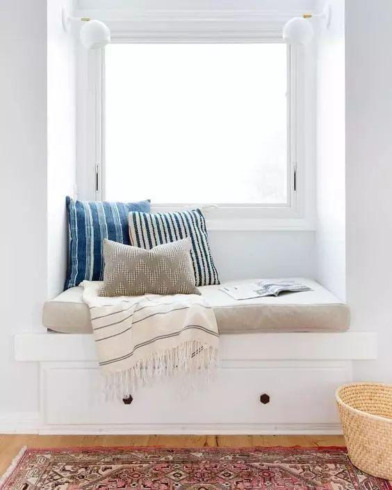 飘窗最妙的5种设计 让你家多出5㎡