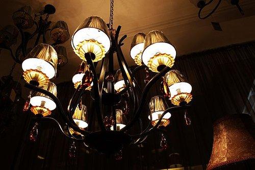 复古欧式灯具的风靡 睁开复古的眼睛图片
